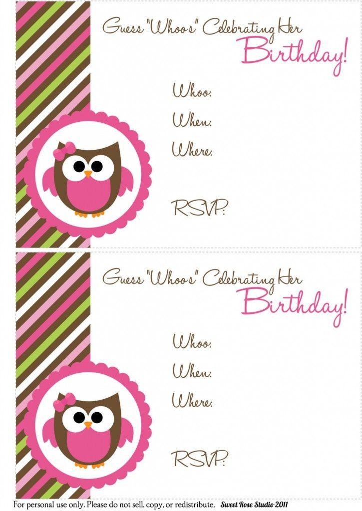 Ea13500ecfe42d8f10358385179cb140g 7251024 bristols birthday owl birthday freebie lots of printables including invitations tags and labels solutioingenieria Choice Image