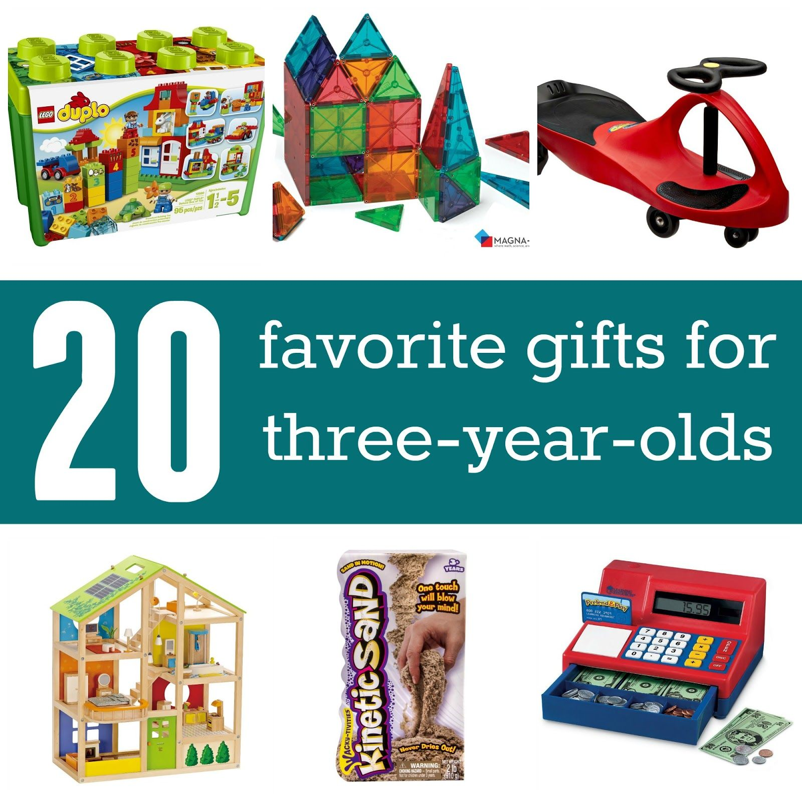 Favorite Gifts for 3 year olds