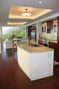 Kitchens With Tray Ceilings Kitchen Island With Custom