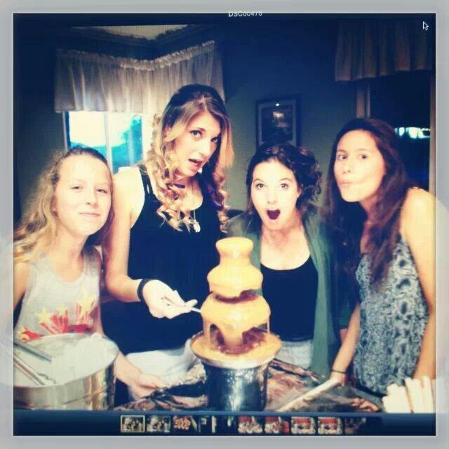Katey's 17th birthday party fun