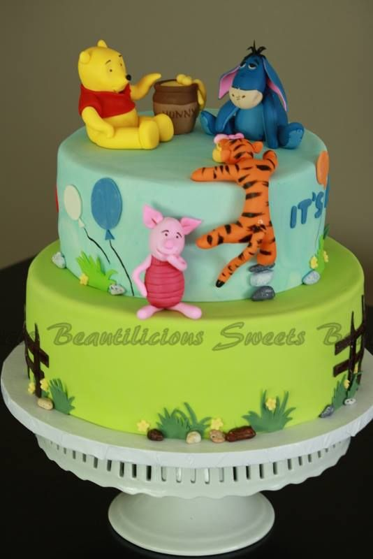 Winnie The Pooh Baby Shower Cake For Baby Showers Ideas