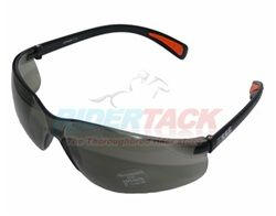 Best riding glasses, for $8 each buy a bunch and who cares if they get damaged? SSG brand in smoke and clear.