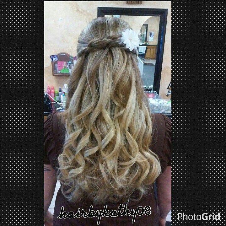 Beautiful Bridesmaid style. Simi, Ca Stylist 805-526-2122. Instagram @hairbykathy08