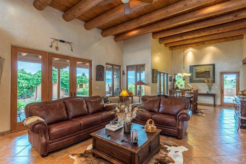 Terrakotta fliesen bodenbelag bereinstimmungen mit den oben genannten log stil ausgesetzt - Warmer bodenbelag wohnzimmer ...