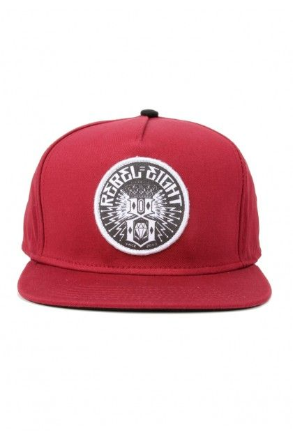 25c455c93adb2 Rebel8 Clothing Sewer King Snapback Hat - Cardinal  32.00 ...