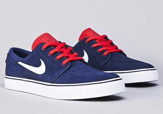 Nike Stefan Janoski Azul Y Rojo mayor en línea ABkvdJuu