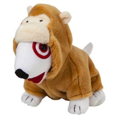 Gorilla Target Bullseye Dog Plush Dog Plush Animals Dogs