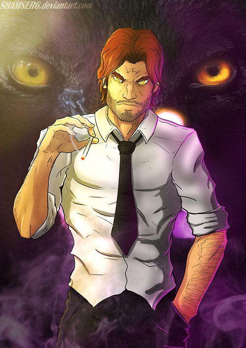 Big Bad Wolf The Wolf Among Us Fan Art Created By Sergei