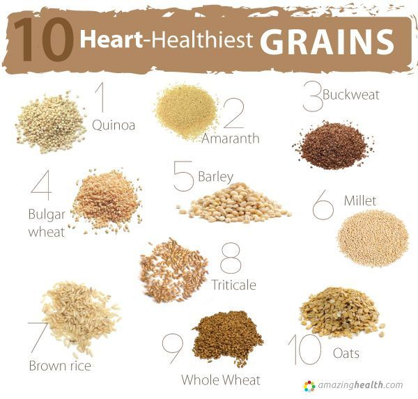 Heart Healthiest Grains Lists Of Best Food For Your Artery