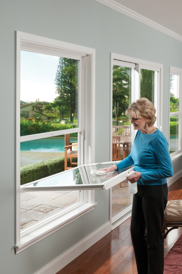 Double Hung Windows Can Be Operated From The Bottom Or Top