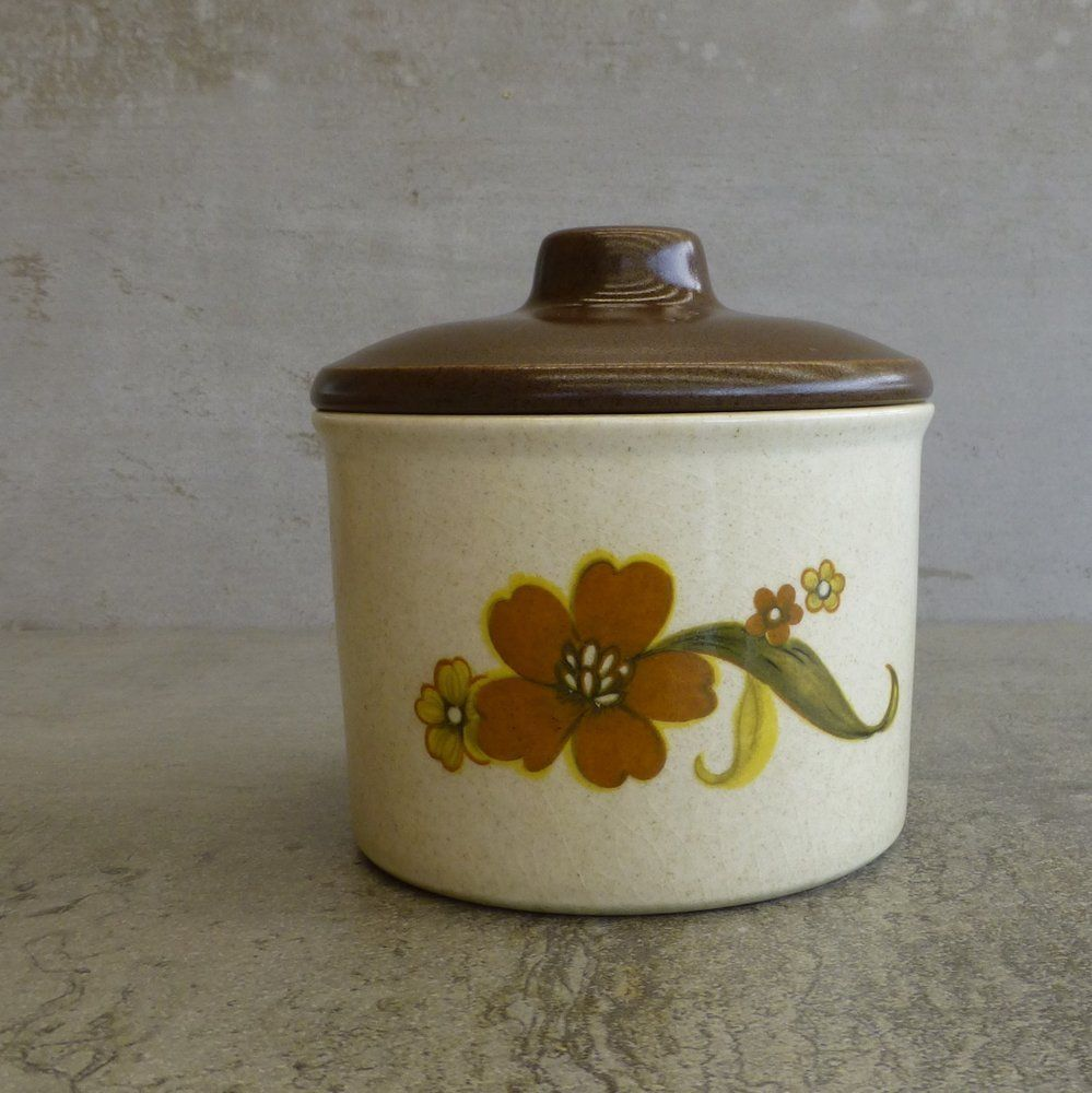 Sugar bowls with lids - Retro Sugar Bowl With Lid By Johnson Of Australia Made In Australia 1970s