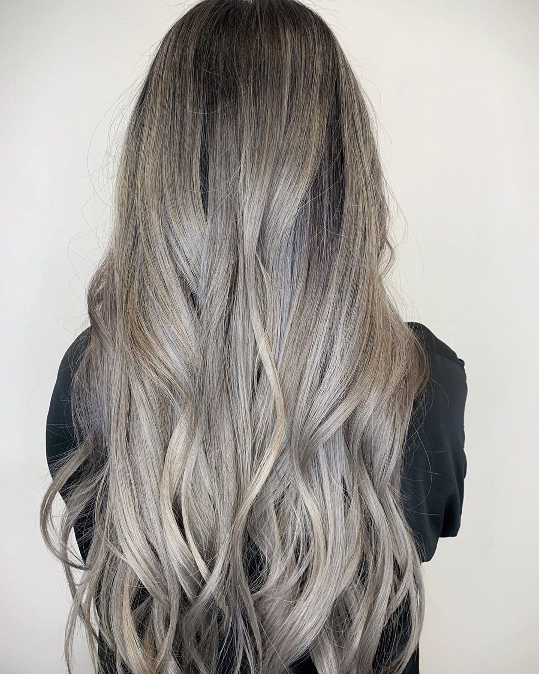 Ash blonde with a dash of smoke ???? . . .  #aishakay #aishakayhair #aishakaystudio #hair #beautiful #pretty #longhair #transformation #ashhair #blondeombre #ashblonde #ashblondebalayage  #prettyhair #beachwaves #lighthair #asianblondeahie #greyhair #graybalayage #blondeondarkhair #balayageombre  #sgvhair #glendalehair #lahair #pasadenahair #schwarzkopf #cosmoprof #behindthechair #modernsalon  #americansalon #hairspiration #lightashblonde Ash blonde with a dash of smoke ???? . . .  #aishakay #ai #ashblondebalayage