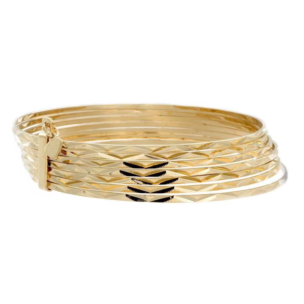 available priced style gold at pin rope bracelets bangles bracelet karat stunning bangle yellow