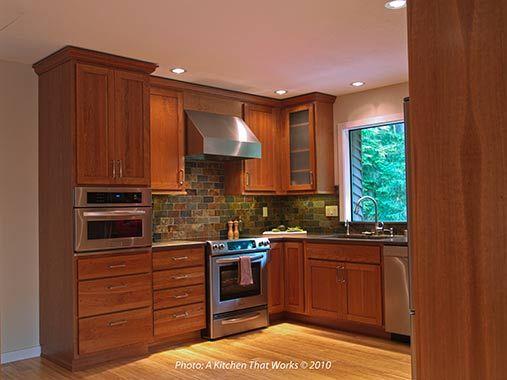 Split level kitchen before after split level home for Kitchen ideas for split level homes