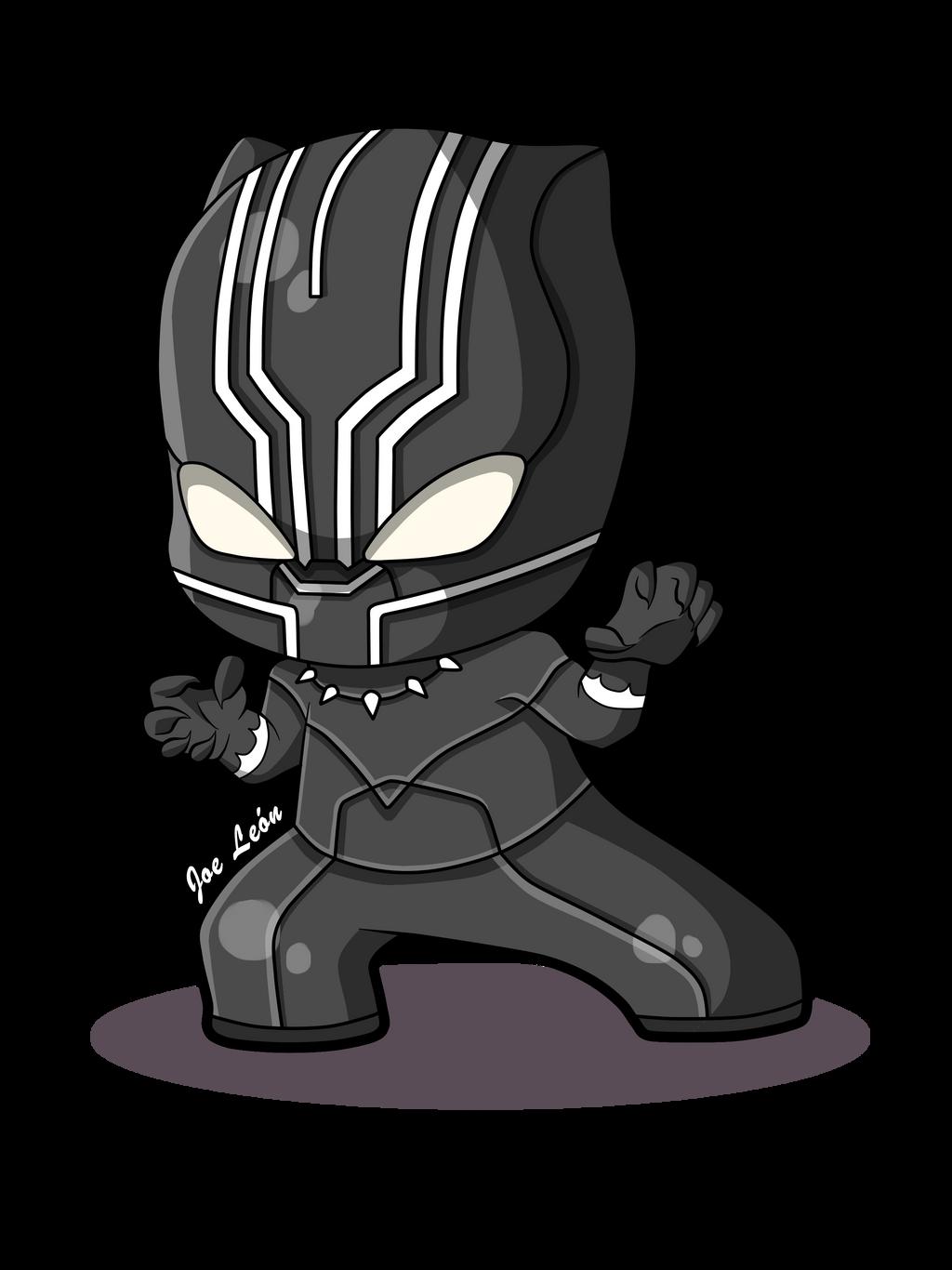 Black Panther By Joeleon On Deviantart In 2020 Marvel Cartoon Drawings Avengers Drawings Chibi Marvel