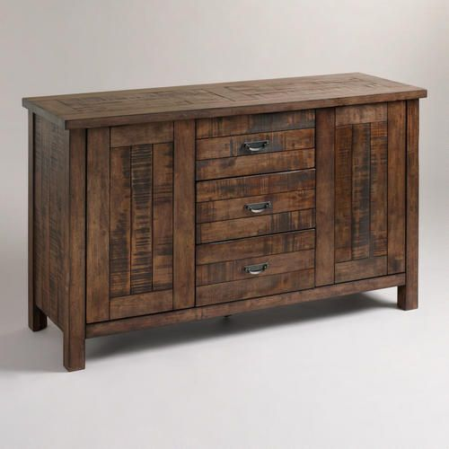 One Of My Favorite Discoveries At Worldmarket Com Garner Sideboard Rustic Sideboard Rustic Dining Room Dining Room Furniture Sets