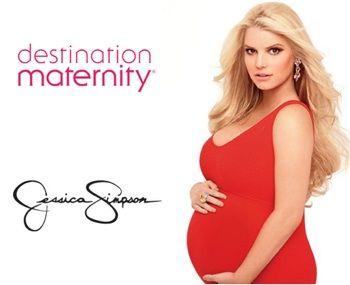 Jessica Simpson Ready S Fall Maternity Line Fashion Beauty