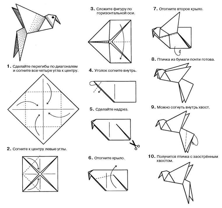 Сделать из бумаги картинки