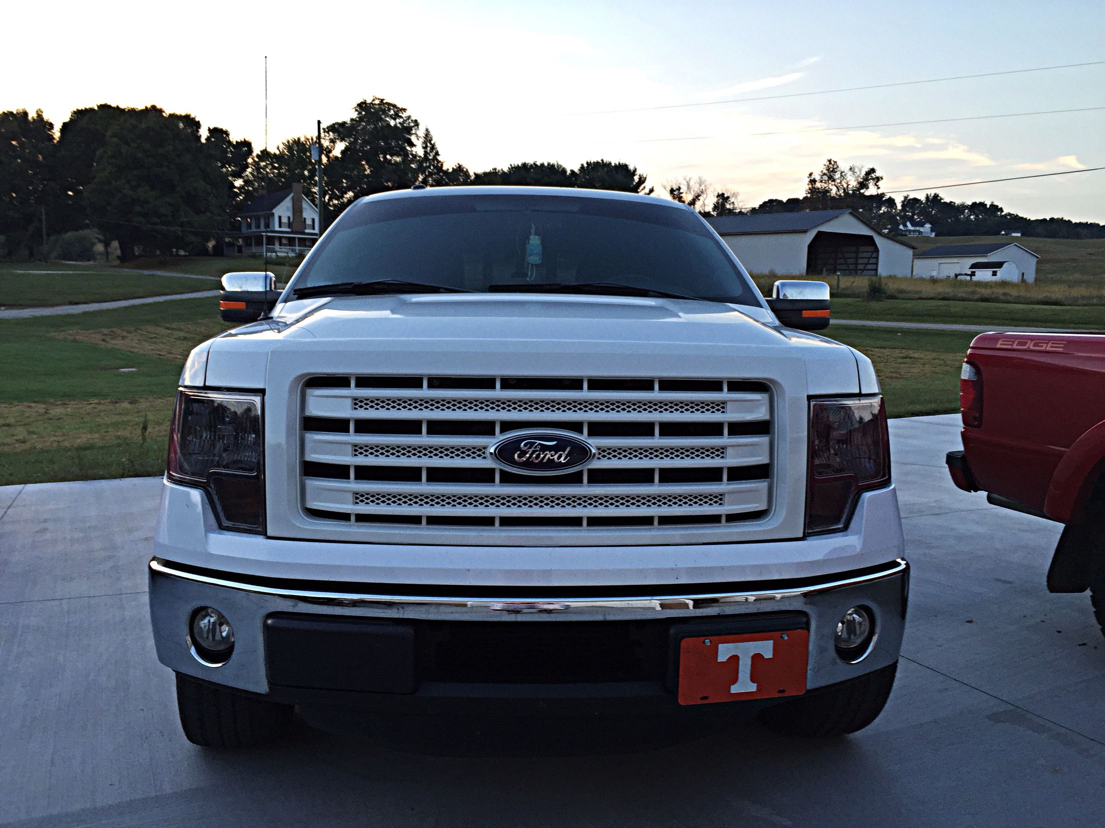 Painted F150 Grill My Weekend Truck Project