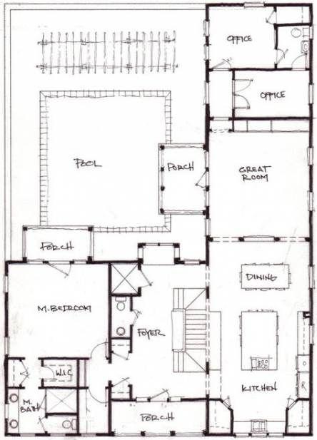 New house plans farmhouse l shape ideas | L shaped house ...