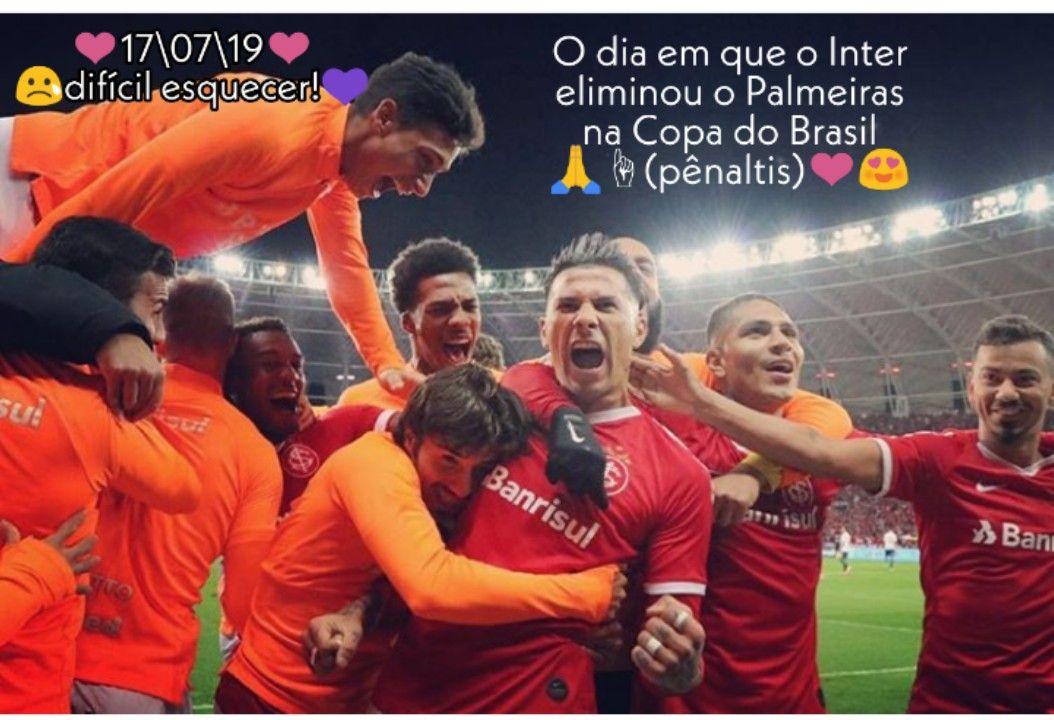 Pin De Natali Gabrieli Em Internacional Palmeiras Copa Do Brasil Internacional Paixao
