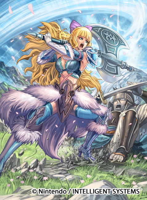 Fire Emblem Charlotte Cipher Card | Character Concepts