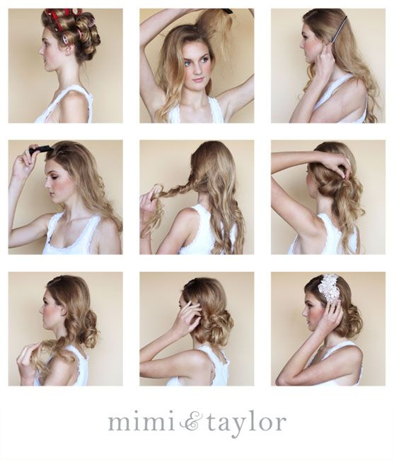 Mimi Taylor Diy Holiday Glamour 1 Set Hair In Velcro