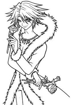 Manga Coloring Pages 2jpg 250371 Pinterest Child