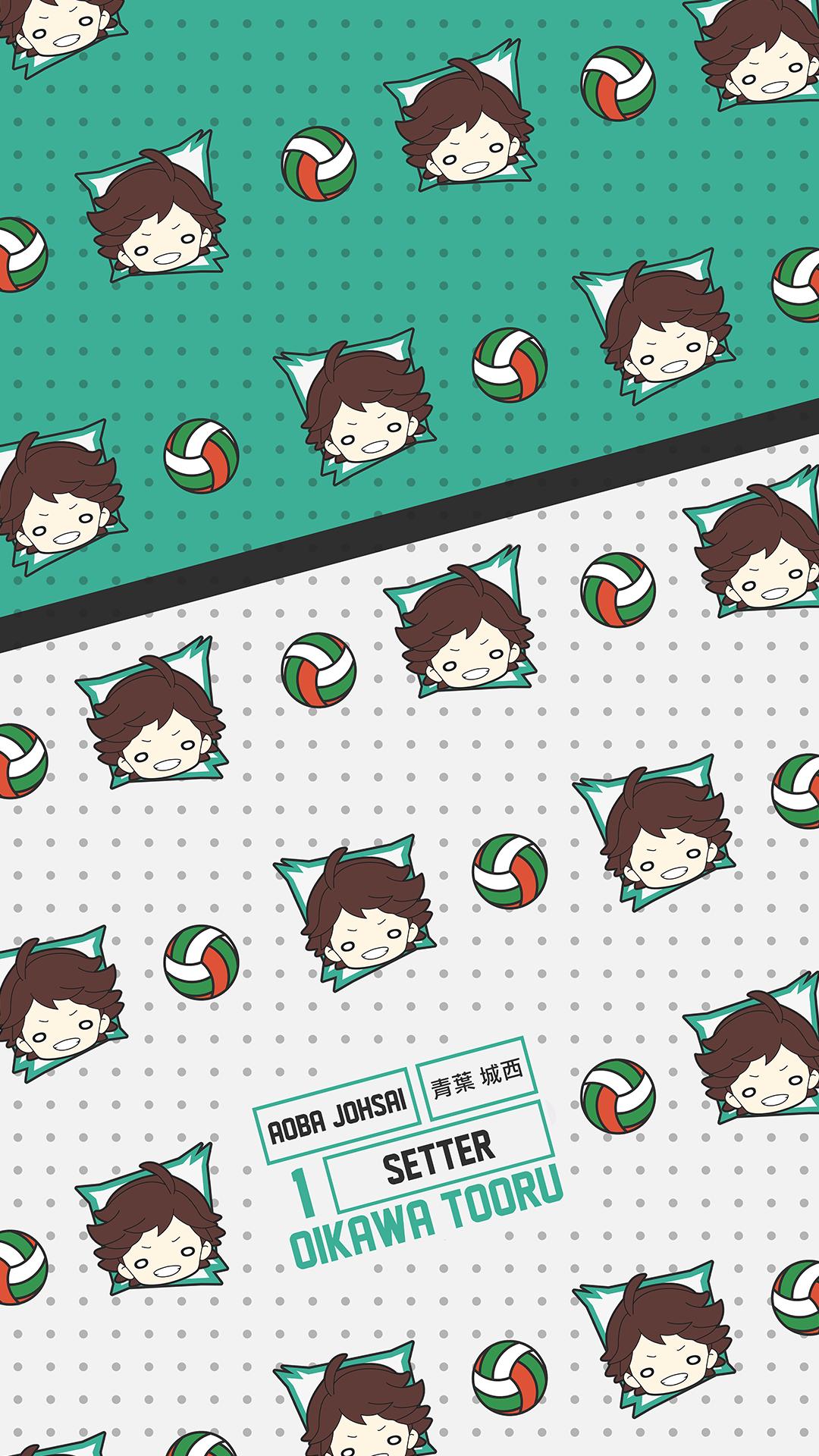 Oikawa Tooru Aoba Johsai Pattern Haikyuu Wallpaper In 2020 Haikyuu Wallpaper Haikyuu Anime Cute Anime Wallpaper