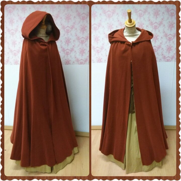 hooded cloak woolen hooded cape wool woolen hooded. Black Bedroom Furniture Sets. Home Design Ideas