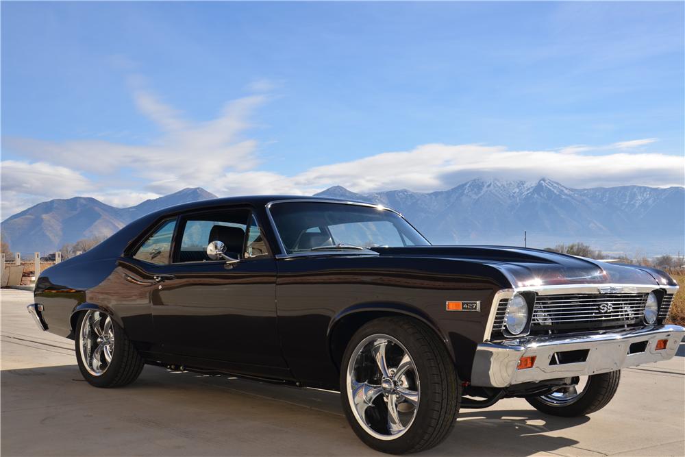 1969 Chevrolet Nova Custom Coupe 213230 Chevrolet Nova