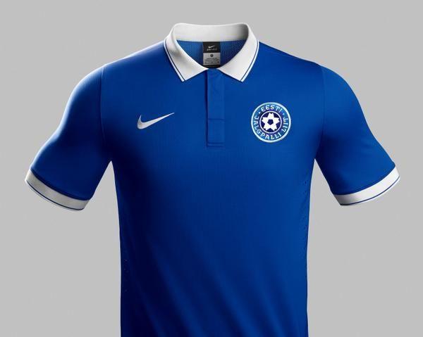 0dfa371a1 FlagWigs  Estonian national football team Home and Away jers ...
