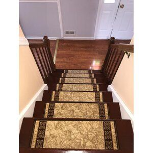 Best Outdoor Skid Resistant Beige Stair Tread Stair Treads 400 x 300