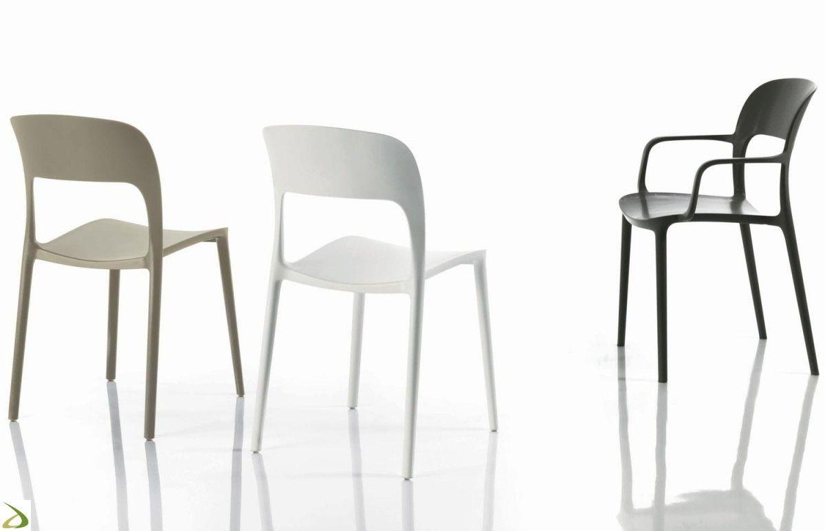 Idee Arredamento Casa Sedie In Plastica Prezzi Con Tavoli E Da ...