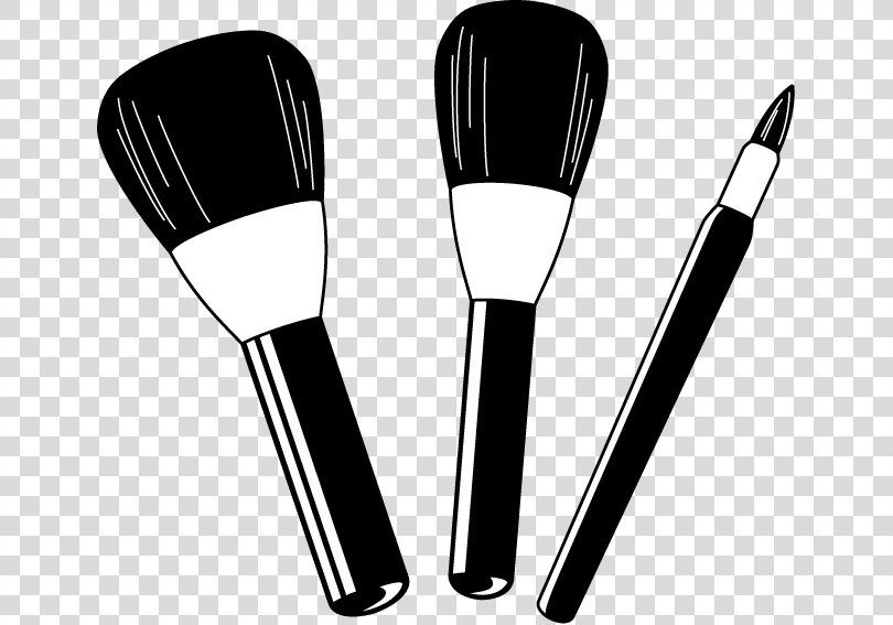 Cosmetics Makeup Brush Rouge Clip Art Makeup Cliparts Png Cosmetics Black And White Brush Compact Eye Shadow Makeup Cosmetics Makeup Brushes Makeup