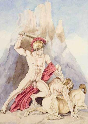 Author Revives Gay Greek Myths