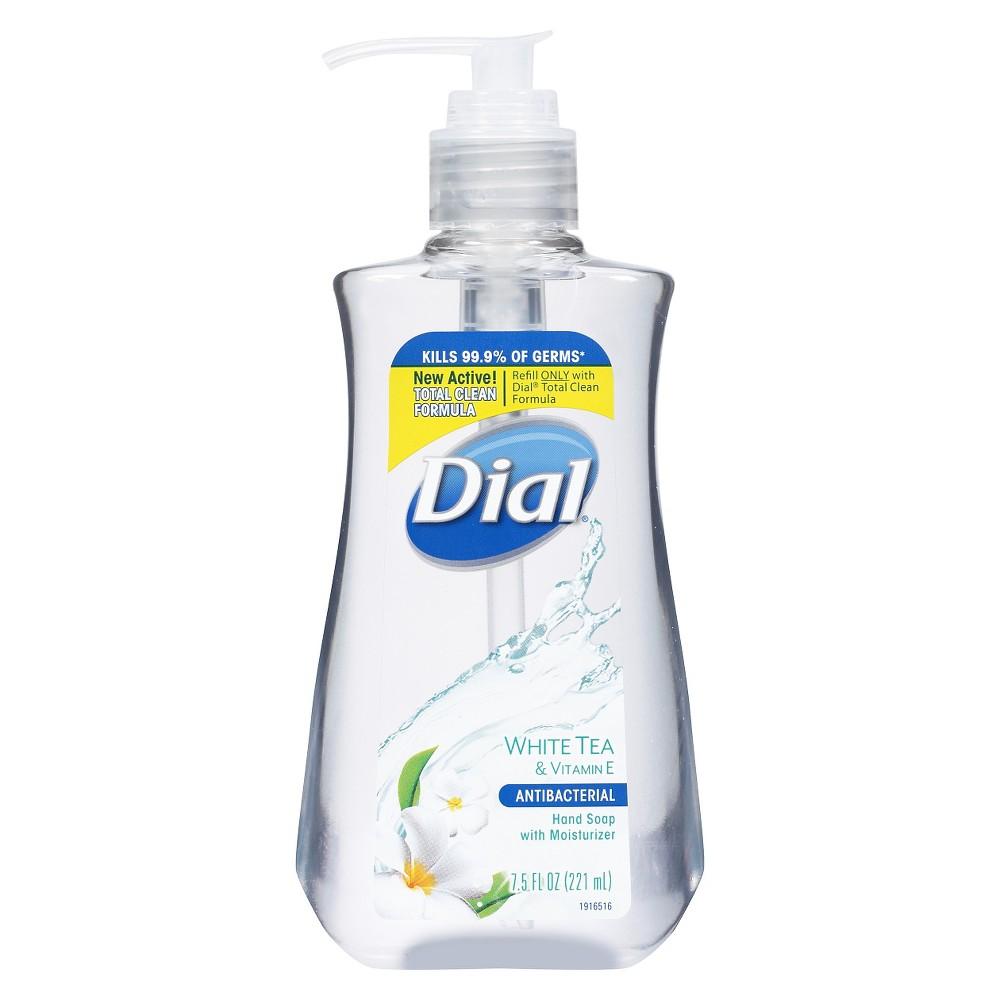 Dial White Tea Liquid Hand Soap Gel 7 5oz Liquid Hand Soap