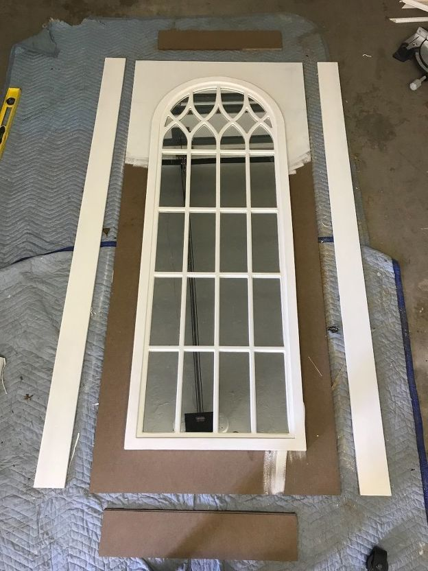 How To Build And Assemble A Mirrored Barn Door In 2019