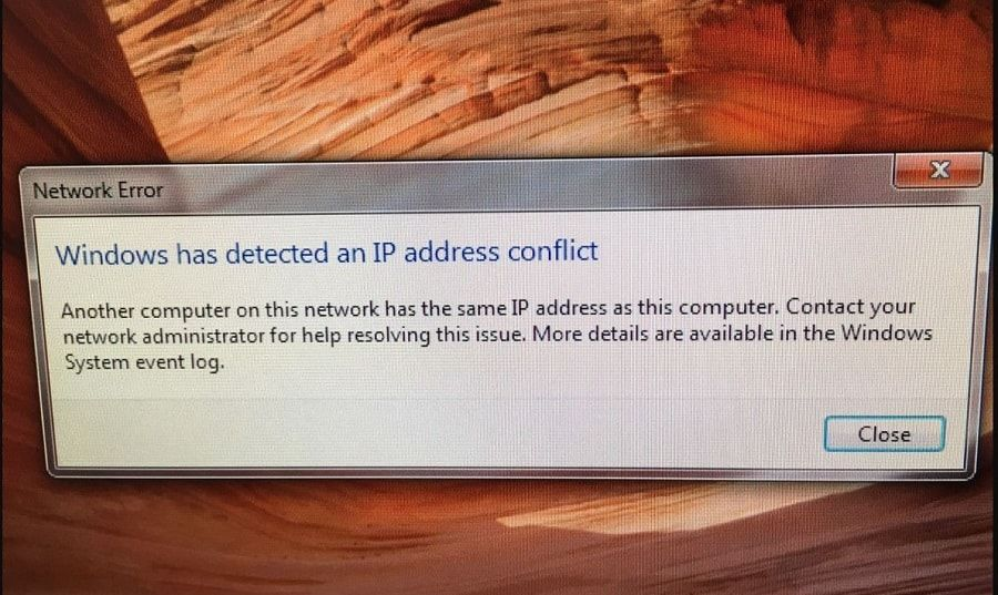 How To Fix Ip Address Conflict Windows 10 8 1 And 7 Windows