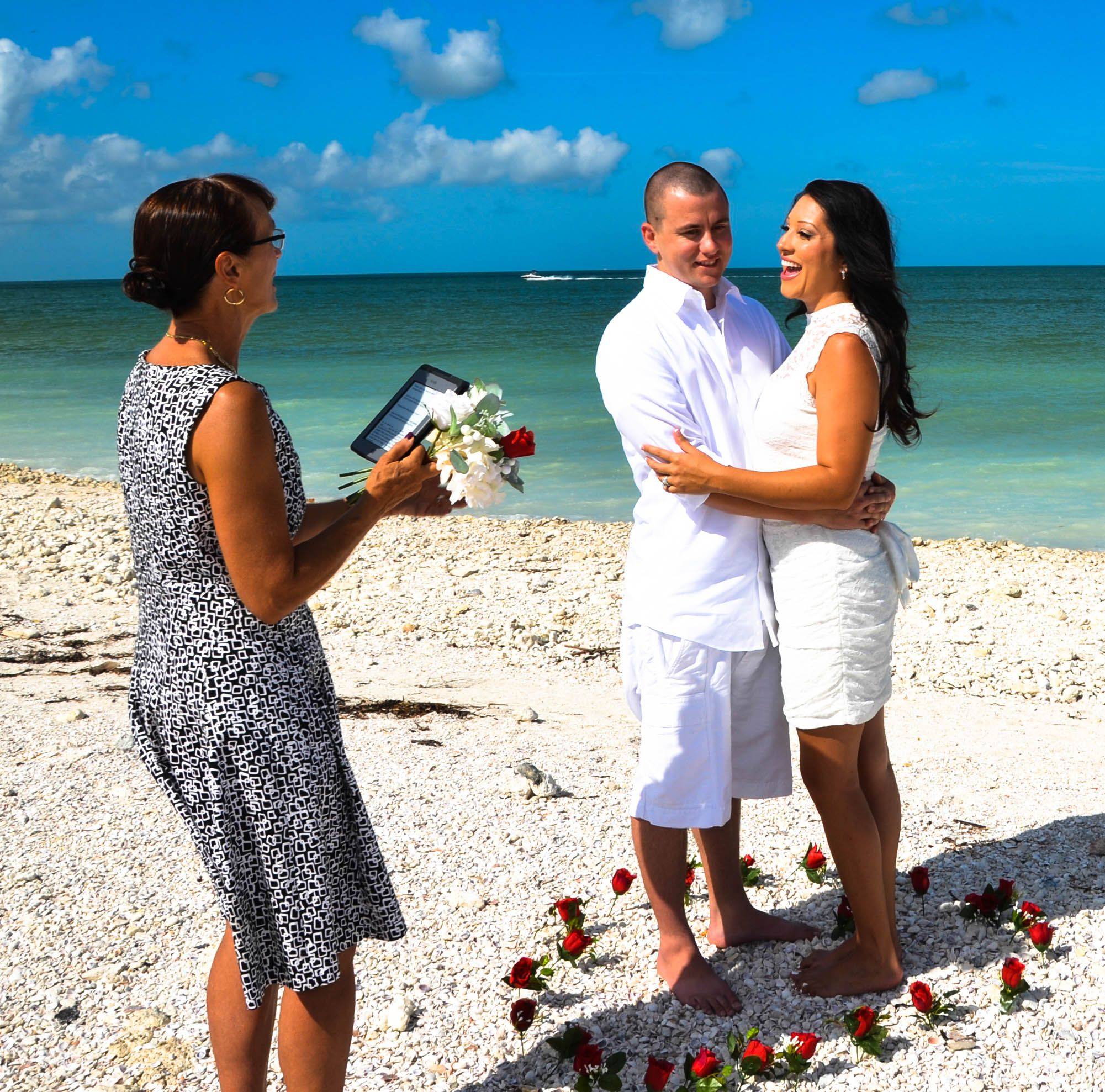 Elope On Clearwater Beach. Clearwater Weddings. Clearwater