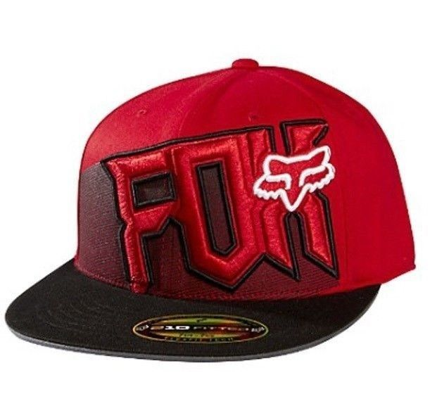 838bd05f141 ... where to buy fox racing youth mental power 210 fitted hat mens size l  xl new
