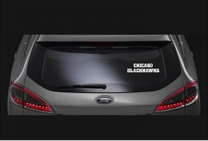 Chicago BlackhawksCustom Vinyl DecalBumper Sticker For - Custom vinyl stickers chicago