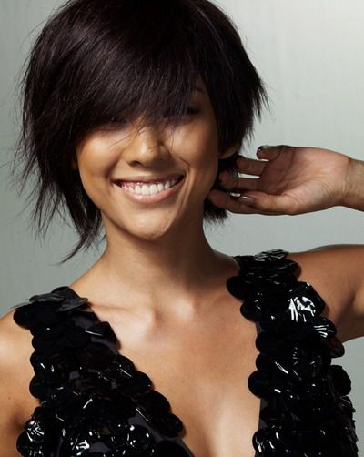 Die besten 25 asiatische kurze frisuren ideen auf pinterest asiatischer haarschnitt - Frisuren pinterest ...