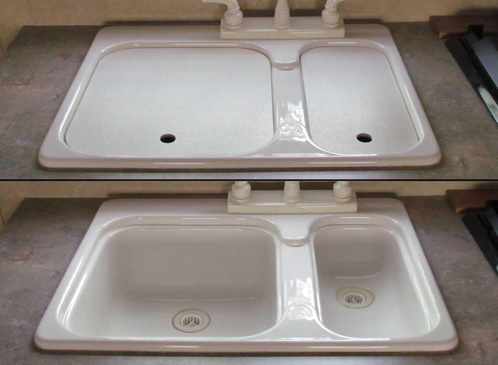 travel trailer sink cover rv sink