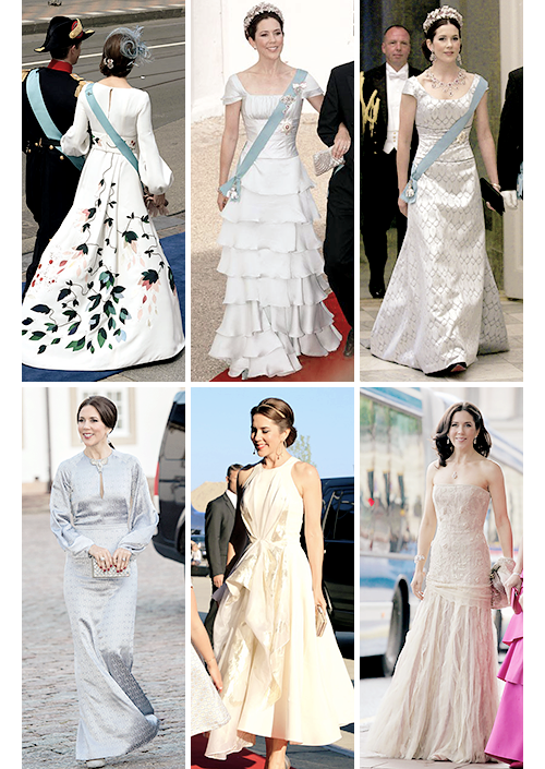 Crown Princess Mary Evening Gowns | Crown Princess Mary & Crown ...