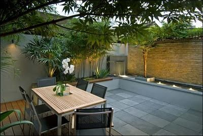 Exteriores y jardines modernos ii jard n moderna for Techos exteriores modernos