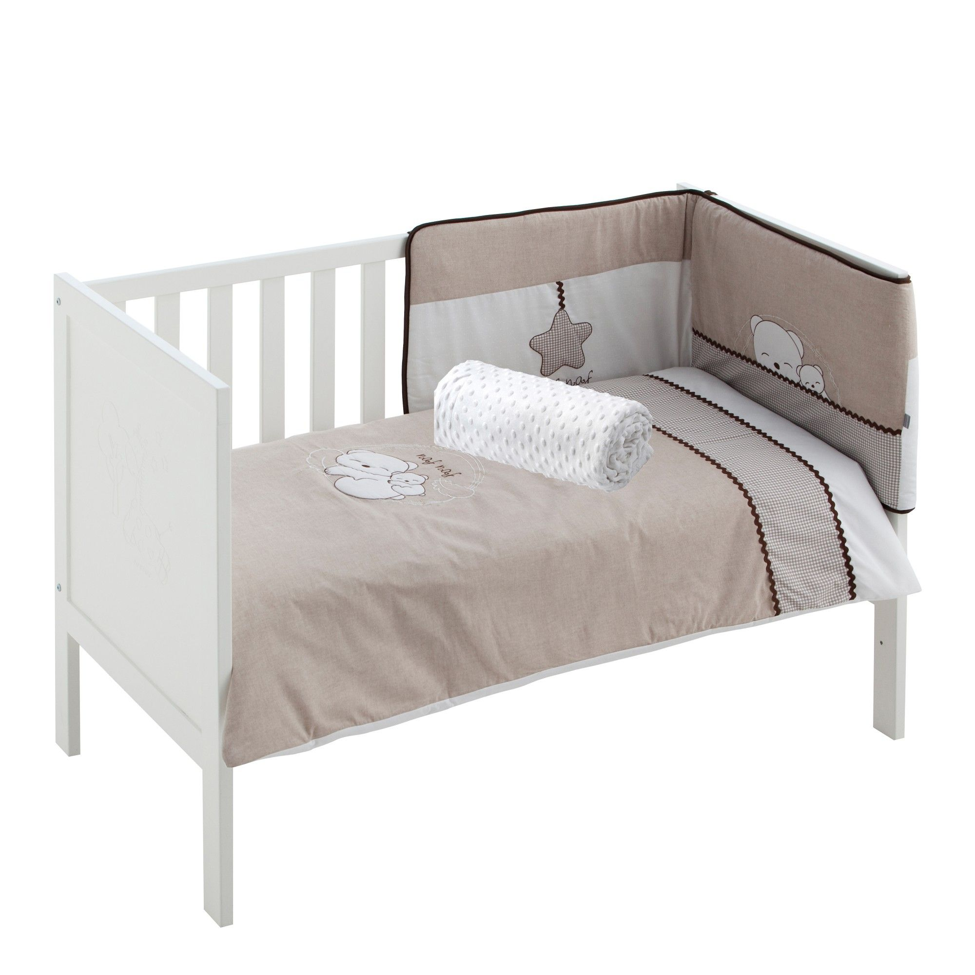 Naf Naf Bettgarnitur Dreams 4 Teilig Kuschelige Bettwäsche Bed