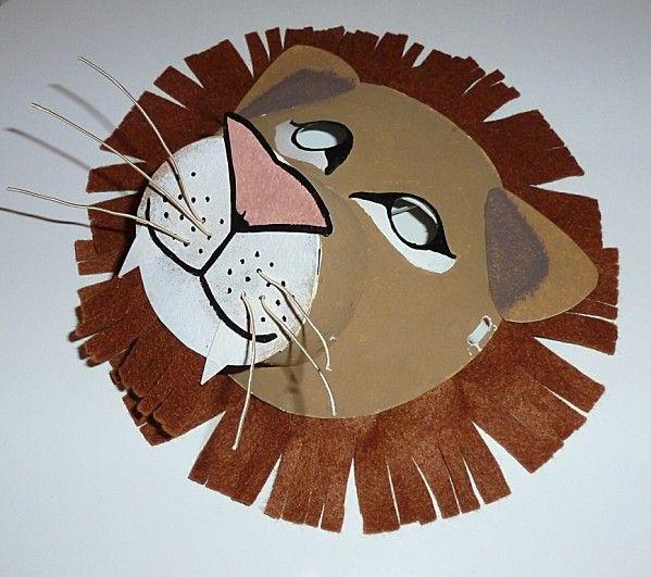 masque lion carnaval animal masks lion et animals. Black Bedroom Furniture Sets. Home Design Ideas