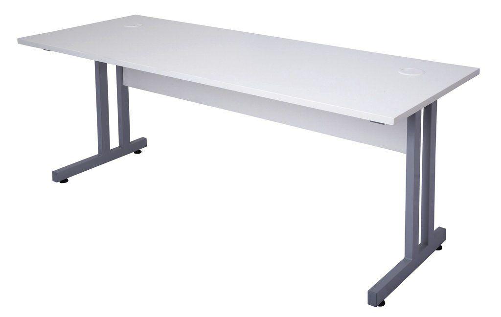 Rapidline Rapid Span Desk With C Leg And Timber Panel U2013 Dunn Furniture
