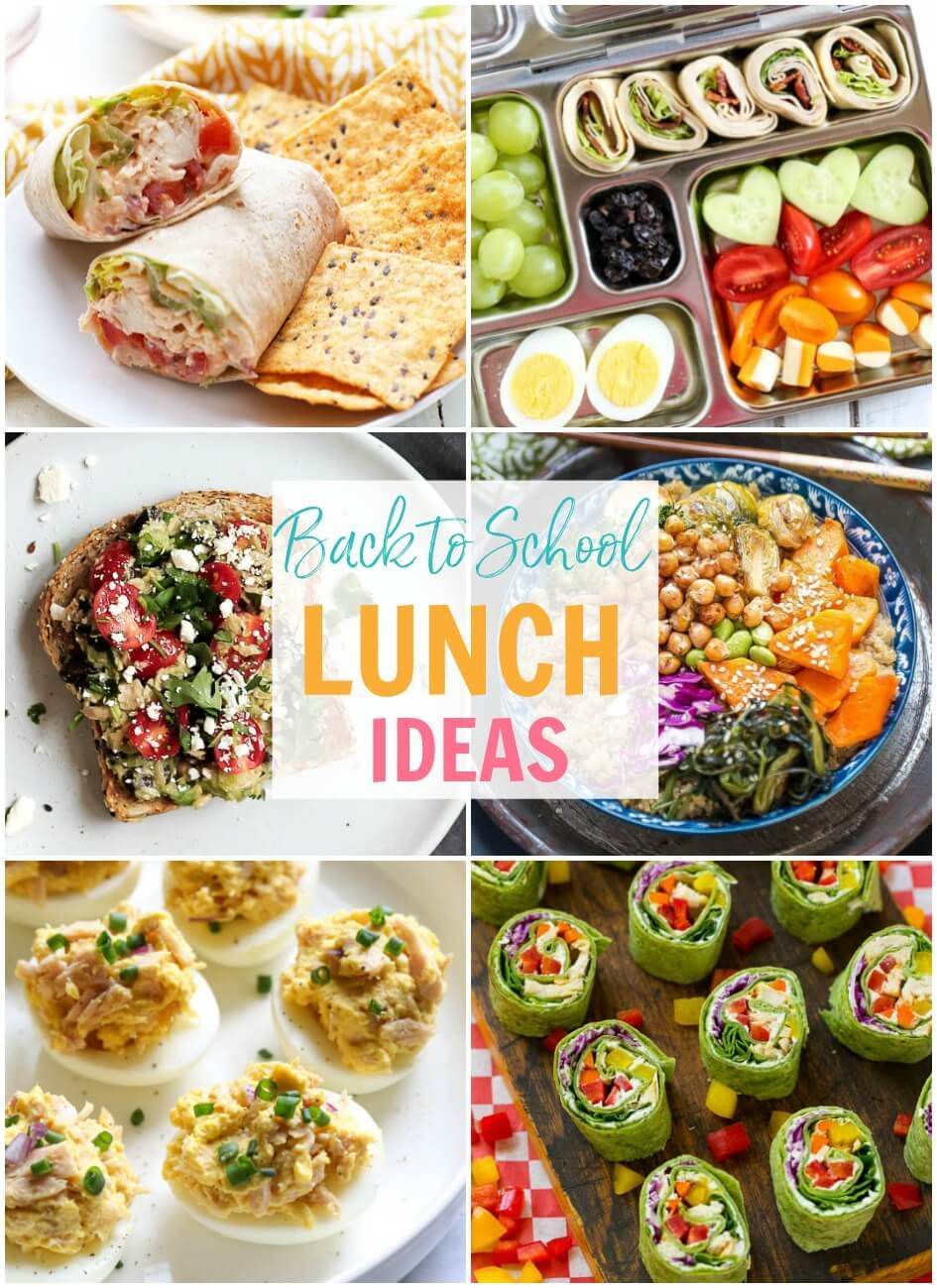 20 easy meal prep school lunch ideas - the girl on bloor images